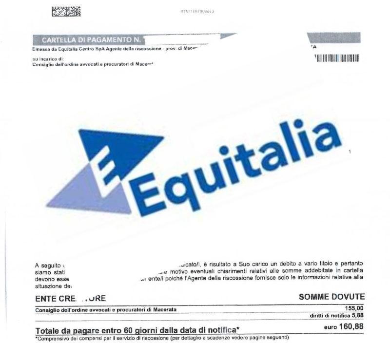 Cartelle equitalia come accedere alla rateizzazione for Rate equitalia